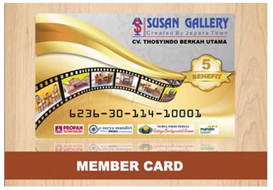 Member Card Susan Gallery Jati