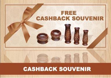 Cashback Barang Souvenir Jati